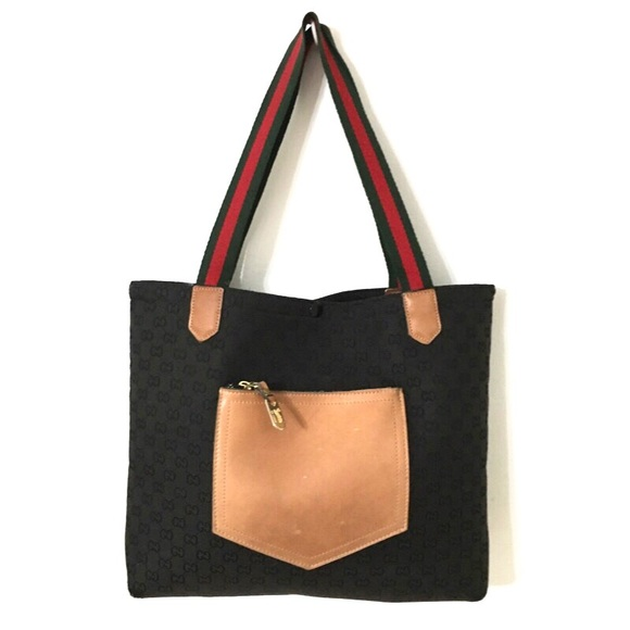 9f957e59778 Gucci Handbags - Vintage Gucci Monogram Tote Bag
